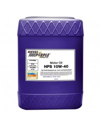 Royal Purple HPS High Performance SAE 10W-40 Synthetic Motor Oil, 5 Gallons