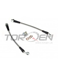 300zx Z32 Technafit Stainless Steel Brake Lines Rear Big Brake Kit Akebono, Stoptech, AP, Brembo, etc.
