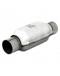 EVO 8 & 9 Flowmaster 3940 Series OBDII Stainless Steel Round Catalytic Converter