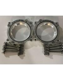 Simplistic Garage 75mm Throttle Body Adapters (HR/VHR2001) VQ35HR/VQ37VHR G35 350z G37FX37 370Z Infiniti Q50 Q60