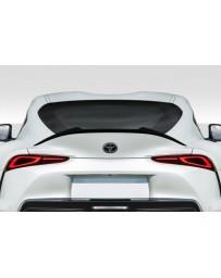 Toyota Supra GR A90 MK5 Duraflex Speed Rear Wing Add On - 1 Piece
