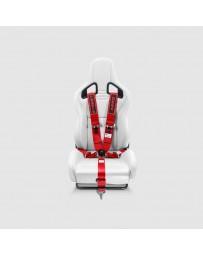Street Aero Red SFI Certified Single Racing Harness