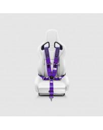 Street Aero Purple SFI Certified Single Racing Harness