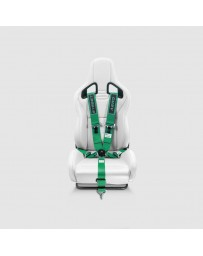 Street Aero Green SFI Certified Single Racing Harness