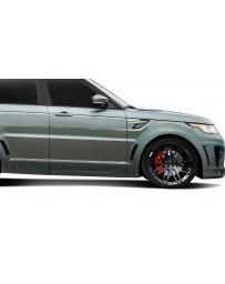 2014-2015 Land Rover Range Rover Sport Urethane AF-2 Wide Body Front Door Caps ( PUR-RIM ) - 2 Piece (S)