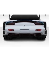 1993-1997 Mazda RX-7 Duraflex Wide Body BRS Rear Bumper Add-Ons - 2 Piece