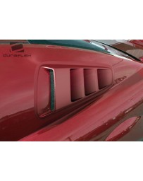 2010-2014 Ford Mustang Duraflex Circuit Window Scoop Louvers - 2 Piece