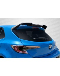 2019-2021 Toyota Corolla Hatchback Carbon Creations A Spec Roof Wing Spoiler - 1 Piece