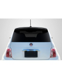 2012-2017 Fiat 500 Carbon Creations Abarth Look Roof Wing Spoiler - 1 Piece