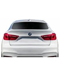 2015-2019 BMW X6 F16 / X6M F86 AF-1 Trunk Wing Spoiler ( GFK ) - 1 Piece