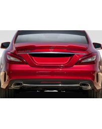 2012-2018 Mercedes W218 CLS500 CLS63 AF-1 Wing Spoiler ( GFK ) - 1 Piece (S)