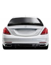 2012-2018 Mercedes W218 CLS500 CLS63 Carbon AF-1 Wing Spoiler ( CFP ) - 1 Piece (S)