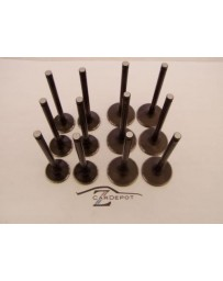 Intake Exhaust Valve Set 12 Valves 81-83 280ZX and Turbo