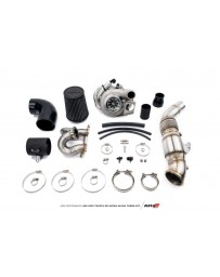Toyota Supra GR A90 MK5 AMS Performance Alpha 6 GTX3076 GEN II Turbo Kit 49 State Legal EPA Catted