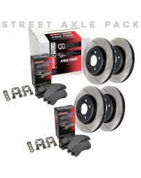 EVO 8 & 9 StopTech Slotted Sport Brake Rotors and Brake Pads