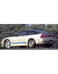 VeilSide 1989-1994 Nissan 240SX RPS13 180SX Hatchback E-II Model Rear Mid Spoiler (FRP)