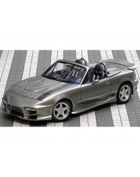 VeilSide 1990-1998 Mazda Miata Roadster NA6CE/ NA8CE C-I Model Side Skirts (FRP)