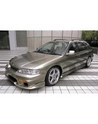VeilSide 1994-1997 Honda Accord 4Cly. CE1 EC-1 Model 2 Pieces Front Bumper Spoiler TYPE-A (FRP)