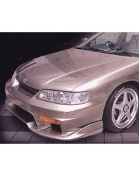 VeilSide 1994-1997 Honda Accord 4Cly. CE1 EC-1 Model 2 Pieces Front Bumper Spoiler TYPE-B (FRP)