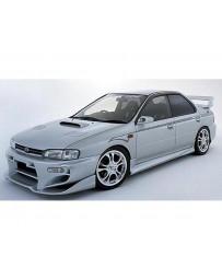 VeilSide 1993-2001 Subaru Impreza GC8 C-I Model Front Bumper Spoiler (FRP)