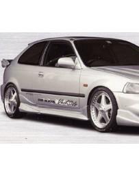 VeilSide 1996-2000 Honda Civic Hatchback/ Coupe EK4 EC-I Model Side Skirts (FRP)