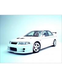 VeilSide 1997-2001 Mitsubishi Lancer EVO IV, V, VI CN9A/ CP9A EC-I Model Front Bumper Spoiler (FRP)