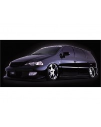 VeilSide 1999-2003 Honda Odyssey JDM RA6 Goltier Rear Bumper Spoiler (FRP)