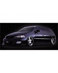 VeilSide 1999-2003 Honda Odyssey JDM RA6 Goltier Side Skirts Door Panels (FRP)