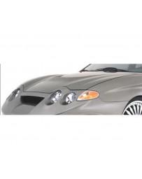 VeilSide 2000-2002 Hyundai Tiburon Turbulence K01R Model FRP Hood (FRP)