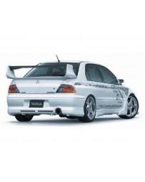 VeilSide 2002-2005 Mitsubishi Lancer EVO VII & VIII CT9A Ver. I Model JDM Spec Rear Under Spoiler (FRP)