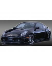 VeilSide 2003-2007 Infiniti G35 - Nissan Skyline V35 Coupe Fortune Model Carbon Hood (CFRP)