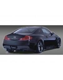 VeilSide 2003-2007 Infiniti G35 - Nissan Skyline V35 Coupe Fortune Model Rear Spoiler (FRP)