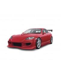 VeilSide 2003-2008 Mazda RX8 SE3P VS D1-GT Model FRP Hood (FRP)