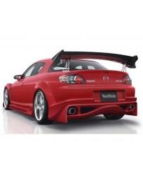 VeilSide 2003-2008 Mazda RX8 SE3P VS D1-GT Model Rear Bumper Spoiler (FRP)
