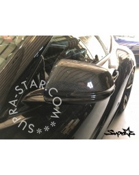 Toyota Supra GR A90 MK5 Supra Star Motorsport Carbon Mirrors (Replacements)