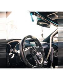 NRG Steering Wheel Hook CNC Aluminum w/ Laser Logo - Neon Green