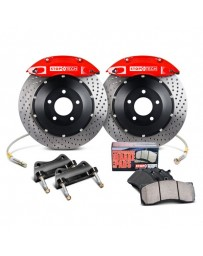EVO 8 & 9 StopTech Performance Drilled Front Brake Kit