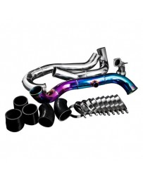 EVO 8 & 9 Weapon-R Neo-Ti Upper Intercooler Pipe Kit