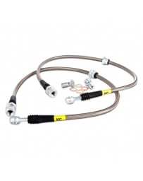 R35 GT-R Stoptech Stainless Steel Brake Lines Rear
