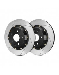 R35 StopTech AeroRotor Slotted 2-Piece Rear Passenger Side Brake Rotors