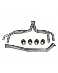 R35 Synapse Engineering V2 304 SS Dual Cat-Back Exhaust System