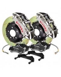 R35 Brembo GT-R Series Slotted 2-Piece Rotor Front Big Brake Kit