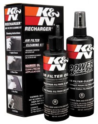 350z K&N Air Filter Cleaning Kit
