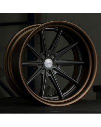 VOSSEN x Work VWS-1 - Matte Black Center / Gloss Bronze Lip