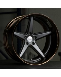 VOSSEN x Work VWS-3 - Matte Black Center / Gloss Bronze Lip