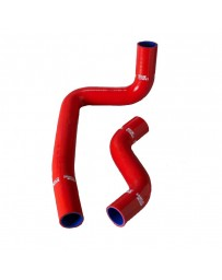 R32 Samco Heater Hose Kit 4 Piece Kit Red