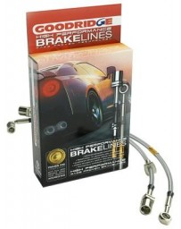 R32 Goodridge Stainless Steel Brake Line Euro