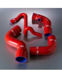 R32 Samco Red Intercooler Hoses Turbo Hose Kit 2 Piece Kit