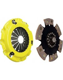 R32 ACT HD Pressure Plate with Race Rigid 6-Pad Clutch Disc