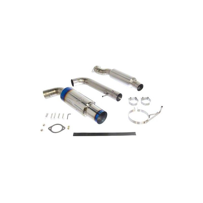 370z Tomei Expreme Ti Full Titanium Single Exit Y-Pipe Back Exhaust System